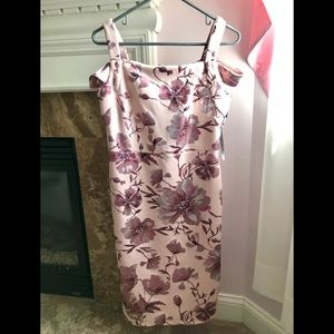 NEW Pink Cold-Shoulder Dress